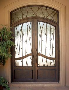 219 Mejores Im 225 Genes De Puertas Forjadas Entrance Doors