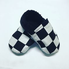 Checkered Soft Sole Baby Shoes with red or black back. Soft Baby Shoes, Better Posture, Baby Feet, Back To Black, Ankle Strap, Slippers, Red, Fashion, Moda