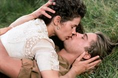 """Julia Ormond and Brad Pitt in """"Legends of the Fall"""""""