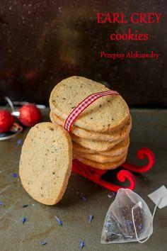Earl Grey Cookies (foggy London)/ ciasteczka z herbatą Earl Grey London Fog Recipe, Earl Grey Cookies, Earl Gray, Cookie Jars, Shortbread, Good Food, Baking, Eat, Breakfast