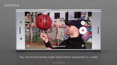 Recording in Super slow motion - Xperia™ XZ Premium and Xperia™ XZs