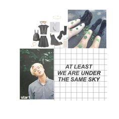 """Jin: If not now, when?💫"" by forever-dreamin-of-bts ❤ liked on Polyvore featuring Topshop, Dr. Martens, Jeremy Scott, Vitamin A, MICHAEL Michael Kors, Karen Walker, Happy Plugs, Skinnydip and Gorjana"