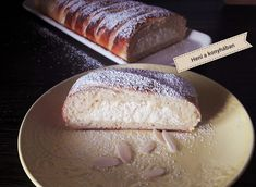 Dairy, Dessert Recipes, Food And Drink, Sweets, Bread, Cheese, Baking, Drinks, Cake