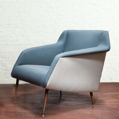 Model no. 802 Lounge Chair by Carlo De Carli | From a unique collection of antique and modern lounge chairs at http://www.1stdibs.com/furniture/seating/lounge-chairs/
