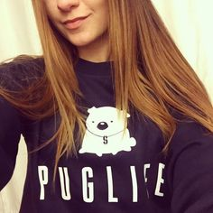 Lucy PUGLIFE♥ Pewdiepie, Pug Life, Moma, Youtubers, Celebrity, T Shirts For Women, Fashion, Moda, La Mode