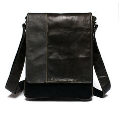 Mens leather satchel leather man bag  by BrandiaManufacture, $125.00