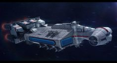 """Commissioned 3D render of a Star Wars ship from Star Wars Edge of the Empire """"Enter the Unknown"""". If you're interested in commissions, please visit this page: 2D + 3D CommissionsHello, you arrived ..."""