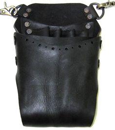 Scissors Case/Handmade Leather Helmet Style Shear by whatthefunk, $130.00