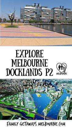 Visit Melbourne Docklands for a unique view of exciting urban redevelopment going on daily. This area is filled with so much to see and do. Click the image for more information. Visit Melbourne, Melbourne Australia, Brisbane, Melbourne Attractions, Melbourne Docklands, Real Estate Jobs, City Of Adelaide, Australia Tourism, Airlie Beach