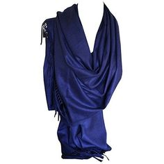 Hochwertige Kaschmir Pashmina Solide Farben Schal Schal Stola Wrap... ❤ liked on Polyvore featuring accessories, scarves, wrap scarves and wrap shawl