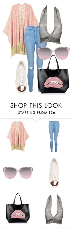 """""""0:79"""" by karen-cruz-chaparro on Polyvore featuring moda, Melissa McCarthy Seven7, New Look, adidas, RED Valentino, Fannie Schiavoni y plus size clothing"""