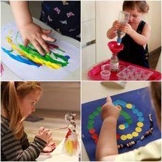 56 activități zilnice pentru copii cu vârsta 2-3 ani - Planeta Mami | Natalia Madan Toddler Activities, Parenting, Baby, Handmade, Crafts, Iris, Hand Made, Manualidades, Baby Humor