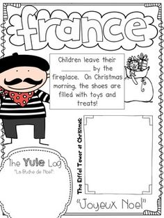 CHRISTMAS AROUND THE WORLD SCRAPBOOK - TeachersPayTeachers.com