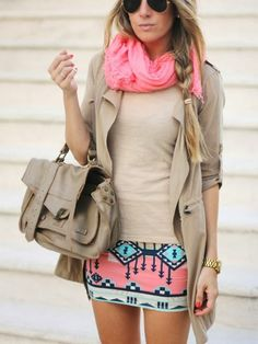 Adorable tribal skirt fashion inspiration | Fashion and styles