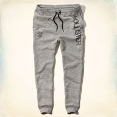 Guys Hollister Fleece Jogger Pants | Guys New Arrivals | HollisterCo.com