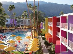 The Best New Hotels in the United States | The Saguaro, Palm Springs Found on www.cntraveler.com via Tumblr