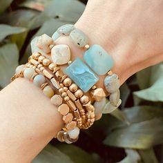 Summer jewel for creativity! Titanium quartz bracelet on silver plated metal base