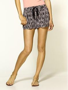 Layana Ikat Print Silk Shorts by Joie #Shorts #Ikat #Joie