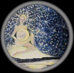 """""""Luna ~ Moon Goddess"""" by Ruth Calder Murphy - Arciemme"""