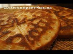 Ethiopian Food - Ambasha Bread Recipe - Amharic English Baking - Not Injera Mulmul Annebabero - YouTube