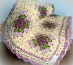 Crochet afghans layouts - Google Search