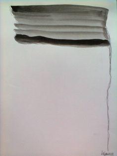 A bandeira. Tinta da China sob papel. Dimensão: A3 p.v.p. 50€
