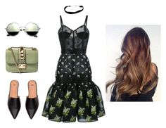 """Untitled #33"" by nuraypva on Polyvore featuring Alexander McQueen and Valentino"