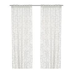 IKEA Alvine Rund pair of curtains, white