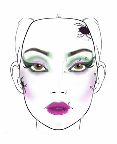 Witch of the west makeup -wicked | Halloween costumes | Pinterest ...