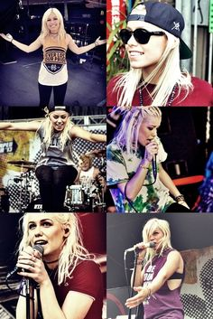 Jenna McDougall lead singer of Tonight alive Diesel Punk, Psychobilly, Love Band, Cool Bands, Rock And Roll, Straight Edge, Grunge, Langer Bob, Rocker Girl