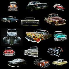 Hot Rod Heaven #hotrods #cars #cam #coupe #deuce #supercharger #roadster #carposters #carprints #hotrodposters #hotrodtshirts #ford #Chevrolet #greazefest #kustomkulture #motor #Chrysler #bantam #buick #chevy #rover #rust #Cadillac #mopar #dodge #fender #chrome #mercury #V8 #pickup #truck #oldsmobile #ratrod #rockabilly #clasiccars #vintagecars #musclecars #slick #engine #carculture #fiat #Plymouth #custom #volksrod #lowrider #Desoto #phoenix #challenger #charger #Pontiac #buy #art…