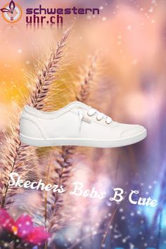 Skechers Bobs B Cute Weiss Superga, Bobs, Memory Foam, Sneakers, Cute, Fashion, Comfortable Work Shoes, Fitness Shoes, News