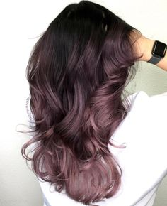 60 Sweet Mauve Hair Color Ideas, You Should Try This Year 24