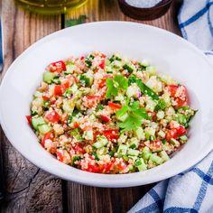 Tabule de Quinoa   Receitas Saudáveis   Encontre Reuniões