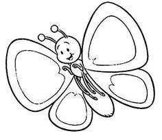 Kelebekler Boyama Sayfaları