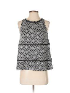 Old Navy Sleeveless Top: Size 4.00 Black Women's Tops - $12.99