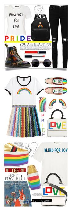 """""""Winners for Celebrate Pride Month!"""" by polyvore ❤ liked on Polyvore featuring Boohoo, Dorothy Perkins, Jordan Askill, Christian Dior, H&M, Missoni, Gucci, Casetify, Les Petits Joueurs and pride"""