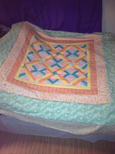Elena's quilt top, not finished yet.