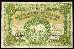 Kroner - Polar bear - Wikipedia, the free encyclopedia Polar Bear, New Art, Vintage World Maps, Auction, Notes, Google Search, Free, Image, Polar Bears