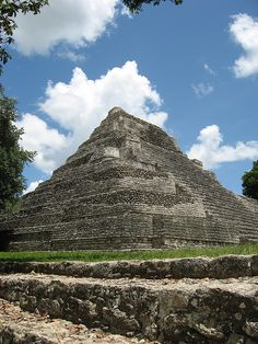 Myan Ruin....my dad loved the ruins in Mexico,  Guatemala,  South America and Egypt and I reveled in the adventure.... :)