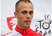 """A French rider in the Tour de France was arrested at his team hotel and suspended in connection with a doping investigation.Cofidis cyclist Remy Di Gregorio has been provisionally suspended by his team pending the outcome of an investigation. """"The suspicion surrounding the rider that has been implicated,Remy Di Gregorio,led us to strictly and immediately apply our team sanctions for breaking ethical rules,"""" the French team said,adding that the cyclist will be fired if convicted of any…"""