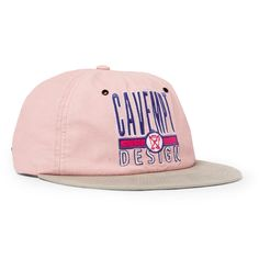 <a href='http://www.mrporter.com/mens/Designers/Cav_Empt'>Cav Empt</a>'s baseball cap embodies the Japanese street-wear brand's urban-ready, graphic aesthetic. Crafted from light-pink and light-grey cotton-twill, it's embroidered with the brand's logo in a punchy fuchsia, purple and white. Use the adjustable back tab to find your perfect fit.