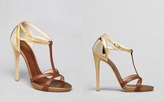 Giuseppe Zanotti Open Toe Platform Sandals - Alien T Strap High Heel
