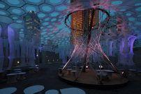 MoMA Sommergarten von Jenny Sabin Studio / Diese Saison in Strick - Architektur und Architekten - News / Meldungen / Nachrichten - BauNetz.de