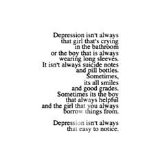 Black and White depressed depression suicidal suicide eating disorder anxiety…