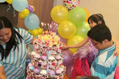 Lalaloopsy birthday cake. @Lalaloopsy
