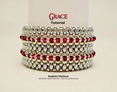 This tutorial explains you how to realize Grace bracelet in a very simple and intuitive way. Each step is illustrated with very detailed diagrams and