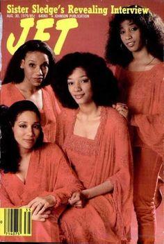 Sister Sledge, Jet Magazine, Black Magazine, Ebony Magazine Cover, Magazine Covers, Women In History, Black History, Famous Black People, Interview