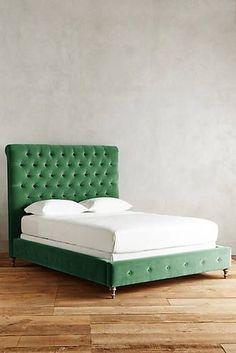 Velvet Orianna Bed... I mean.... I could make this.
