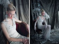 #vintage wedding dress by Liutauras Salasevicius -  http://blog.saules-pieva.lt/2012/02/nemiga-madam-pareis-veliau.html